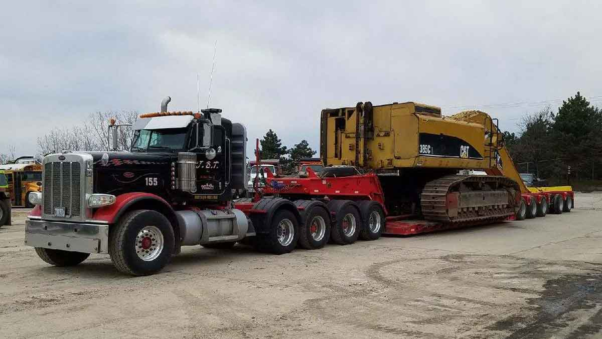 Heavy Hauling New Haven MI | Oversize Load Hauling I-94, SE