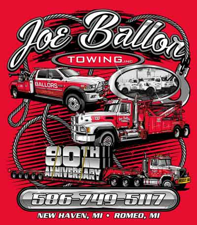 Joe Ballor Towing, Inc. 80th Anniversary